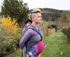 Pregnancy and babywearing - babywearing during pregnancy - blog and pictures by Wrap you in love