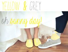 I love the grey and yellow i think these will be the colors i choose. i have seen a lot i like but this kinda sticks with me.Yellow and Grey wedding Bride and Chic | Modern Wedding Ideas By Leading UK Wedding Blog