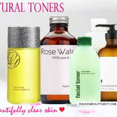 5 Natural Alcohol-free Toners for Beautifully clear skin