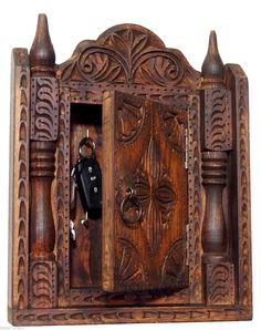 antik-look Vintag Massivholz orient Schlüsselkasten Schlüsselschrank Nuristan A   eBay