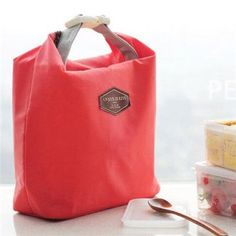 Thermal Cooler Insulated Waterproof Lunch Carry Storage Picnic Bag Pouch lunch bag TC0572