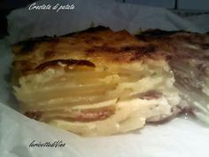 Una buona e saporita crostata di patate