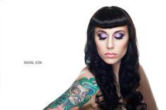 Veronica Fensel Makeup Artistry Digital Icon Photography model Randi Raught