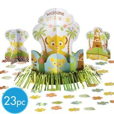 Lion King Baby Shower Table Decorating Kit 23pc