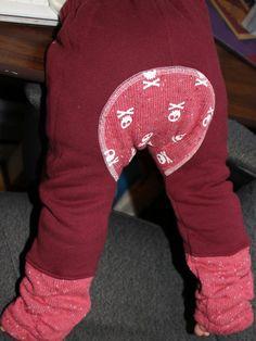 knit monkey pants
