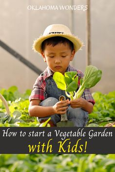 Looking for a healthy project to do with the kids? Here are five tips for starting a vegetable garden for kids that will help them learn to eat healthy and get them enjoying some exercise and activity! growing vegetables with kids | things to do with kids | kids vegetable garden | kids eating healthy | healthy eating for kids tips | vegetable garden tips | family outdoor activities | ideas for healthy kids projects | educational projects for kids | vegetable gardening tips for kids | kids… Vegetable Garden Tips, Starting A Vegetable Garden, Veg Garden, Edible Garden, Garden Kids, Hydroponic Vegetables, Hydroponic Gardening, Gardening Tips, Home Grown Vegetables