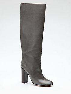 Chloé Knee-High Boot, Petrol