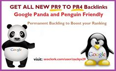 GET UNIQUE PR8 to PR4 Backlink to boost your google ranking #seoclerk https://www.seoclerk.com/user/zackys29