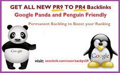 GET UNIQUE PR8 to PR4 Backlink to boost your google ranking #seoclerk https://www.seoclerk.com/user/zackys29