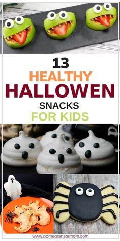 Halloween Fruit, Halloween Snacks For Kids, Hallowen Food, Halloween Treats For Kids, Halloween Desserts, Toddler Halloween Parties, Halloween With Toddlers, Halloween Party Recipes, Toddler Halloween Activities