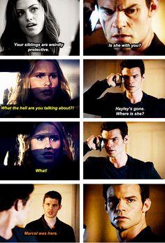 The Originals - Elijah, Hayley, Rebekah and Klaus #Season1