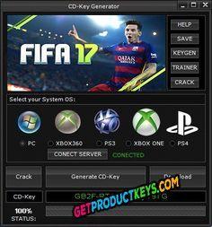 FIFA 17 CD Key Generator (Keygen) Fifa 17, Ps4 Or Xbox One, Key, Unique Key