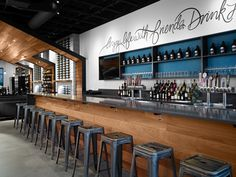 Nectar is a wine and beer tasting room in the Kendall Yards neighborhood and was completed in 2015.