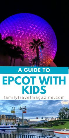 Epcot is often thought of as a park best for adults, but it's also great for little kids. Before visiting, check out our guide to Epcot with kids. ad Disney World Tips And Tricks, Disney Tips, Travel With Kids, Family Travel, Disney World Characters, Canadian Travel, Walt Disney World Vacations, Disney Cruise Line, Epcot
