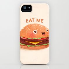 Burger iPhone & iPod Case. So many cases I want but will never have #life as a dreamer