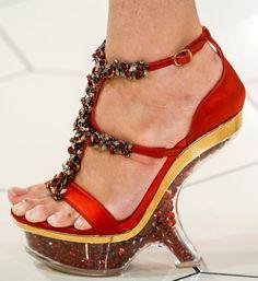Les chaussures à talons design