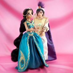 JASMINE AND ALADDIN Doll Set - Disney Fairytale Designer Collection. Global Limited Edition of 6000.