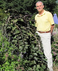 Dr. Dennis Werner, JC Raulston Distinguished Prof. of Horticultural Science, has won the American Horticultural Society's Luther Burbank Award. Given in odd years, the award recognizes extraordinary achievement in plant breeding. It is named for legendary plant breeder Luther Burbank & is one of the society's Great American Gardener awards. (Pictured w. weeping redbud Ruby Falls he developed. |  http://www.cals.ncsu.edu/agcomm/news-center/media-releases/werner-honored-with-burbank-award/