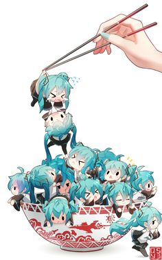 Miku everywhere
