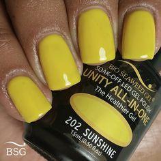 UNITY All-In-One Colour Gel Polish - 202 Sunshine
