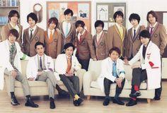 Hey! Say! JUMP + Arashi