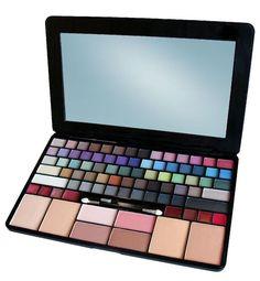 Makeup Kit For Kids, Kids Makeup, Makeup Box, Cute Makeup, Professional Makeup Kit, Cosmetic Kit, Makeup Pallets, Unicorn Makeup, Makeup Makeover