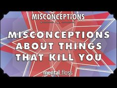 Misconceptions about Things that Kill You - mental_floss on YouTube (Ep. 37) - YouTube
