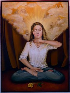 [Celebrating World Falun Dafa Day] Oil Painting: Compassionate Heart