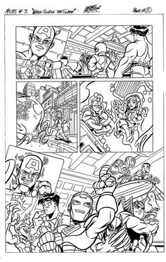 superhero comic coloring pages free coloring pages for kids - Comic Coloring Pages