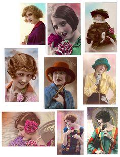free vintage ladies