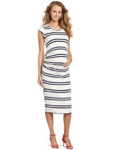Amazon.com: MORE of me Women's Maternity Blake Fully Lined Dress: Clothing