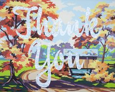 """Thank You by Trey Speegle """"This painting is simply about gratitude. Without it, life is meaningless."""" Limited edition prints from $60."""