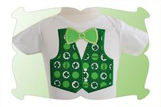 All Occasions Bow Tie and Vest Applique