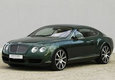 Green 2006 MTM Bentley Continental GT Birkin