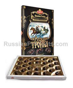 "Assorted Chocolates ""Russian Troika""."