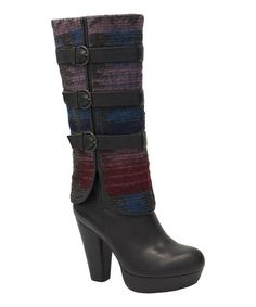 Another great find on #zulily! Brown Wool & Leather Win Em All Boot - Women by Vogue Footwear #zulilyfinds