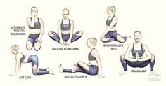 If you have Polycystic Ovarian Syndrome (PCOS), give these 11 yoga Poses for PCOS a try to help decrease stress hormones.