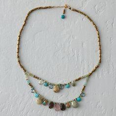 Sleeping Beauty Layered Necklace