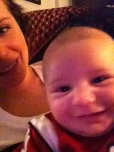 Zayden and mommy