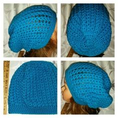#25 textured slouchy beanie adult size in Portland, OR (sells for $15)