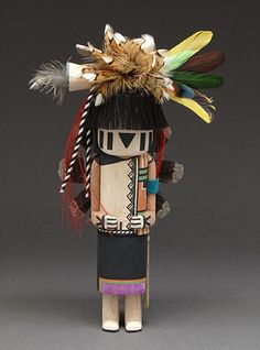 Buffalo Maiden Kachina Doll by Augustine Mowa III (Hopi)