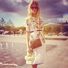 london fashion week poppy