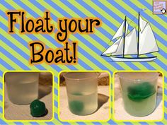 Float Your Boat! {A Buoyancy and Density Lab}