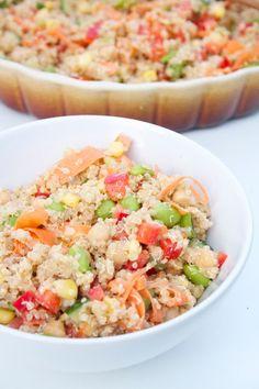 Helga María Ragnarsdóttir: Quinoa Chickpea Salad