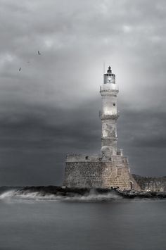 ~ Lighthouse in Crete ~