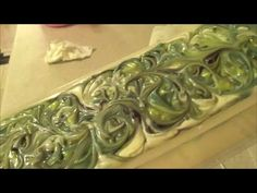 Making and Cutting Cracklin' Birch Cold Process Soap - YouTube