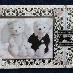 LUXURY WEDDING/ENGAGEMENT CARD