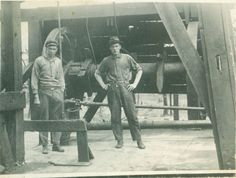 Ed Sticher and Tom Gaddis; Oklahoma oilfield workers