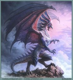 Gothic Fantasy Art, Fantasy Dragon, Fantasy Artwork, Mythical Creatures Art, Magical Creatures, Fantasy Creatures, Small Dragon Tattoos, Dragon Tattoo Designs, Design Dragon
