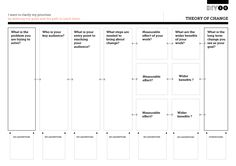 Tool Worksheet Image for Theory of Change